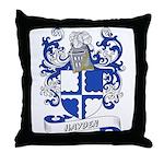 Hayden Coat of Arms Throw Pillow