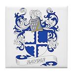 Hayden Coat of Arms Tile Coaster