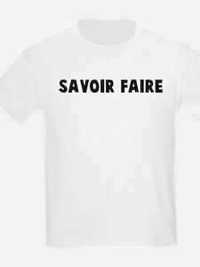Savoir faire T-Shirt