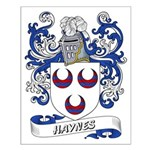 Haynes Coat of Arms Small Poster