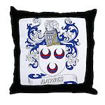 Haynes Coat of Arms Throw Pillow