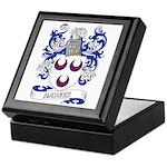 Haynes Coat of Arms Keepsake Box