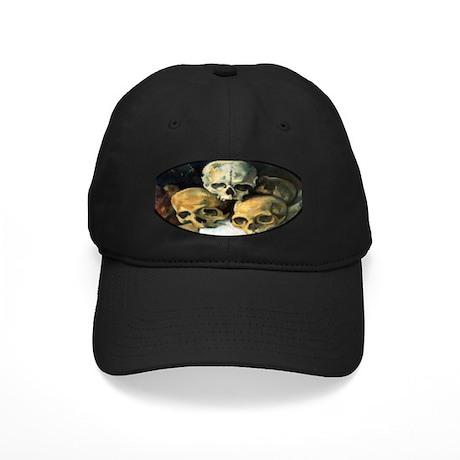 Pyramid of Skulls Black Cap