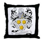 Heathcote Coat of Arms Throw Pillow