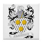 Heathcote Coat of Arms Tile Coaster