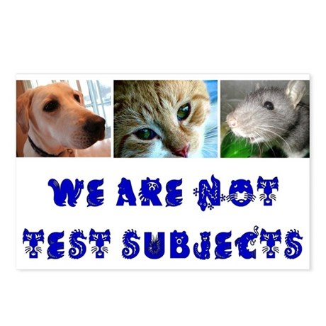 Anti-vivisection Postcards (Pack of 8)