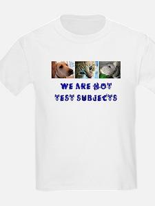 Not Test Subjects Kids T-Shirt