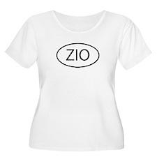 ZIO Womens Plus-Size Scoop Neck T