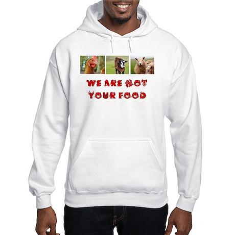 Hooded Vegetarian Sweatshirt