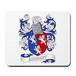 Herbert Coat of Arms Mousepad
