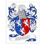 Herbert Coat of Arms Small Poster