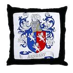 Herbert Coat of Arms Throw Pillow