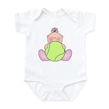 Lil Tennis Baby Girl Infant Bodysuit