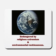 Endangered Earth Mousepad