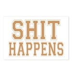 Shit Happens Postcards (Package of 8)