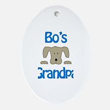 Bo's Grandpa Oval Ornament