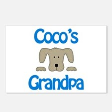 Coco's Grandpa Postcards (Package of 8)