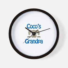 Coco's Grandpa Wall Clock