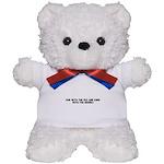 Run with the fox and bark wit Teddy Bear