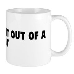 Pull a rabbit out of a hat Mug