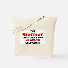 Hot Girls: Le Grand, CA Tote Bag