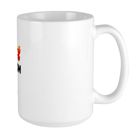 Hot Girls: Le Grand, CA Large Mug