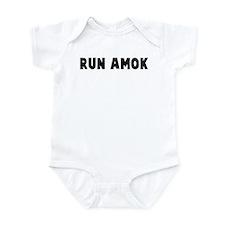 Run amok Infant Bodysuit