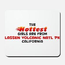 Hot Girls: Lassen Volca, CA Mousepad
