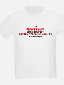 Hot Girls: Lassen Volca, CA T-Shirt
