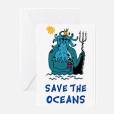 Save the Oceans Greeting Cards (Pk of 10)