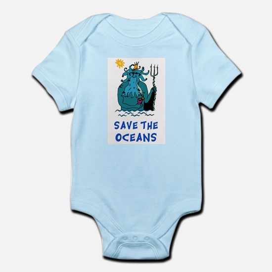 Save the Oceans Infant Creeper