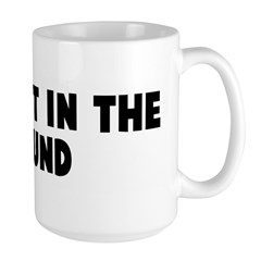 Rub salt in the wound Large Mug