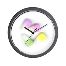Easter Bunny Korn Wall Clock