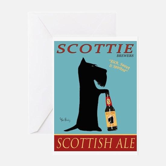 Scottie Scottish Ale Greeting Card