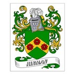 Hinman Coat of Arms Small Poster