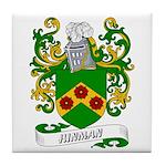 Hinman Coat of Arms Tile Coaster