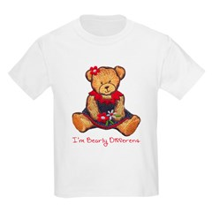 Bearly Different Girls T-Shirt