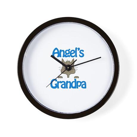 Angel's Grandpa Wall Clock