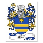 Holt Coat of Arms Small Poster