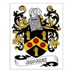 Hopkins Coat of Arms Small Poster