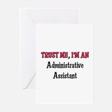 Trust Me I'm an Administrative Assistant Greeting