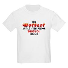 Hot Girls: Bristol, ME T-Shirt