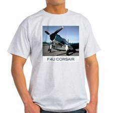 WW2 Aircraft Ash Grey T-Shirt