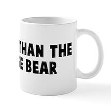 Smarter than the average bear Mug