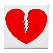 Broken Heart Tile Coaster