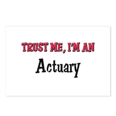 Trust Me I'm an Actuary Postcards (Package of 8)