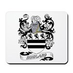 Howland Coat of Arms Mousepad