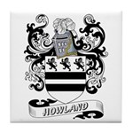 Howland Coat of Arms Tile Coaster