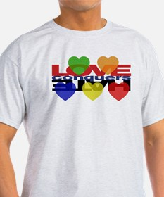 Love Conquers Hate T-Shirt