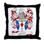 Huger Coat of Arms Throw Pillow
